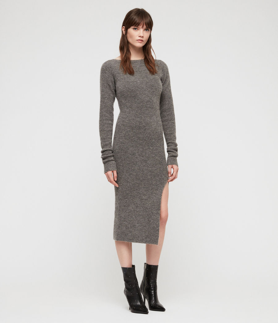 Womens Sedona Dress (charcoal_grey_marl) - Image 1