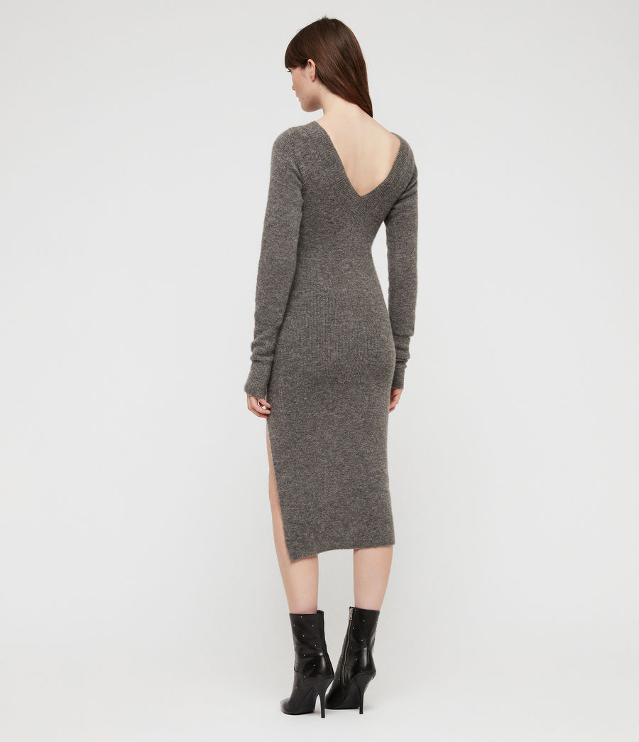 Womens Sedona Dress (charcoal_grey_marl) - Image 6
