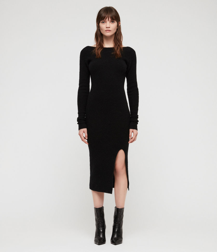 Womens Sedona Dress (black) - Image 1