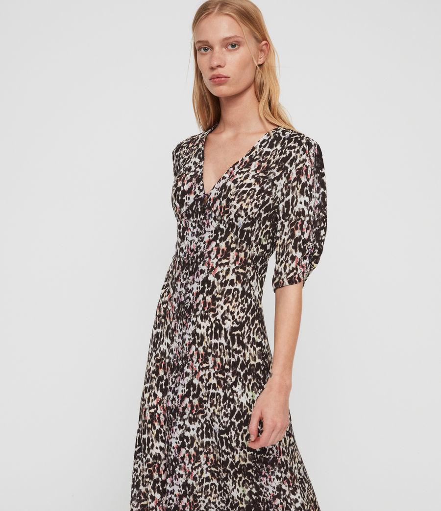 Women's Kota Leofall Long Dress (black_multi) - Image 2