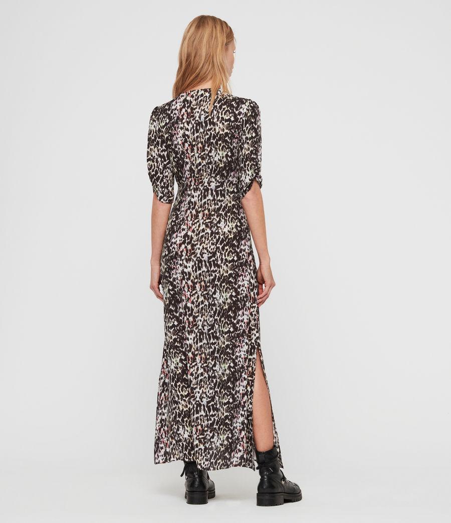 Women's Kota Leofall Long Dress (black_multi) - Image 4