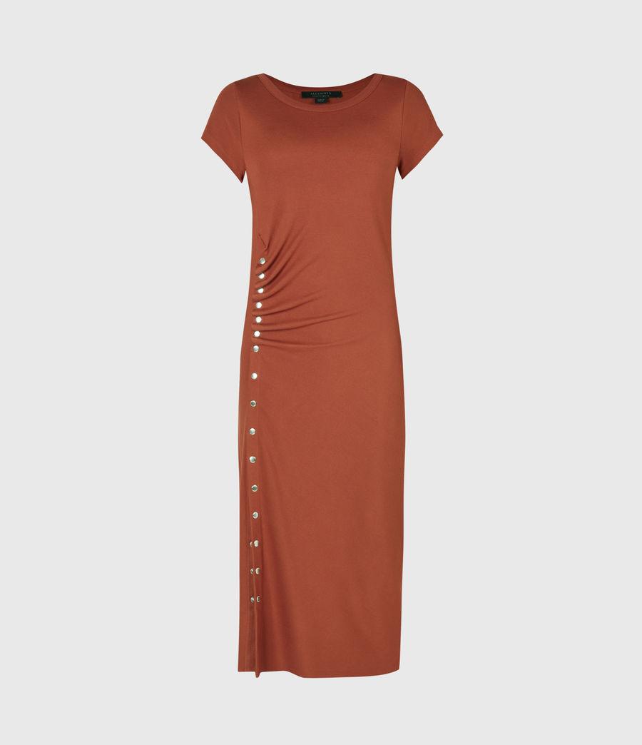 Women's Hatti T-Shirt Dress (arabian_spice_red) - Image 2