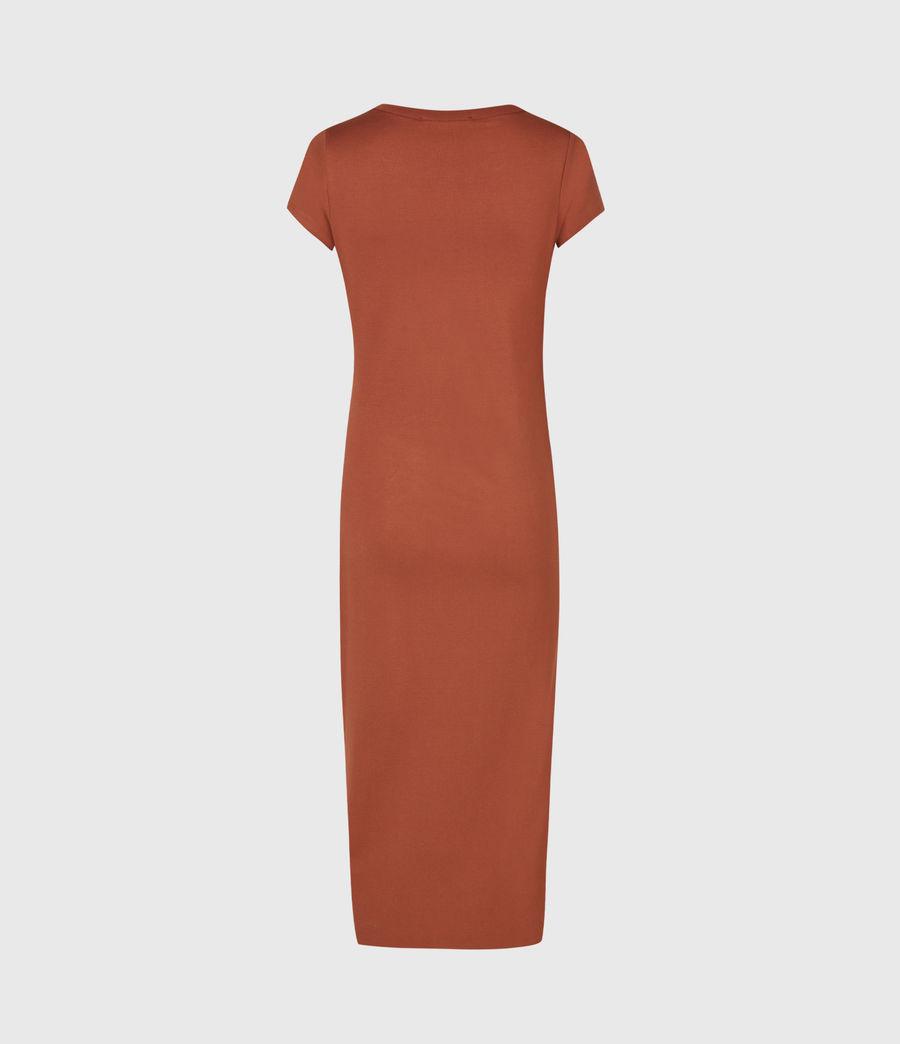 Women's Hatti T-Shirt Dress (arabian_spice_red) - Image 3