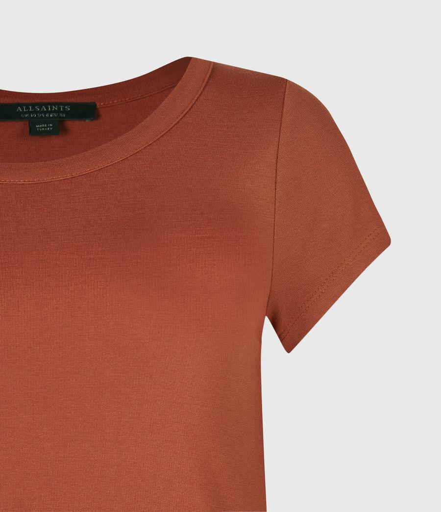Women's Hatti T-Shirt Dress (arabian_spice_red) - Image 4