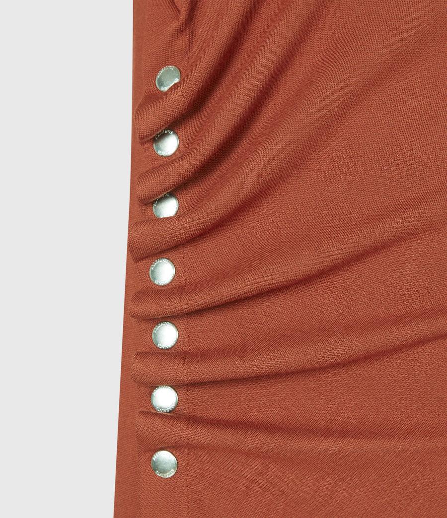 Women's Hatti T-Shirt Dress (arabian_spice_red) - Image 5