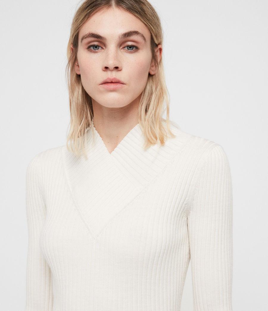 Femmes Robe Vries (chalk_white) - Image 2