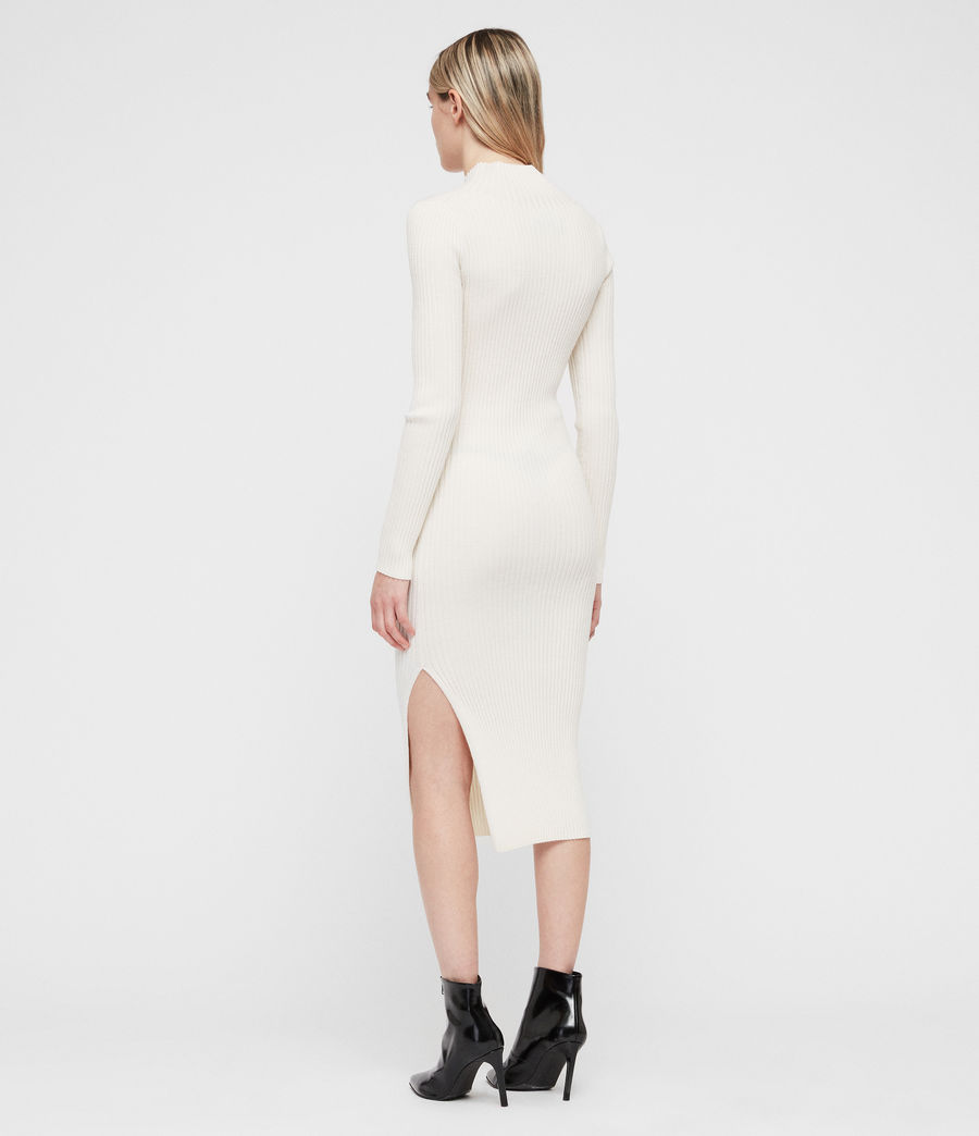Womens Vries Dress (chalk_white) - Image 6