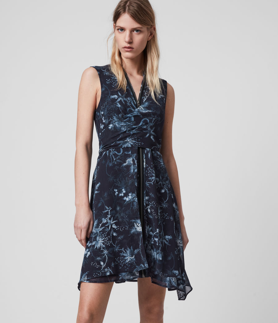 Mujer Jayda Evolution Dress (navy_blue) - Image 4
