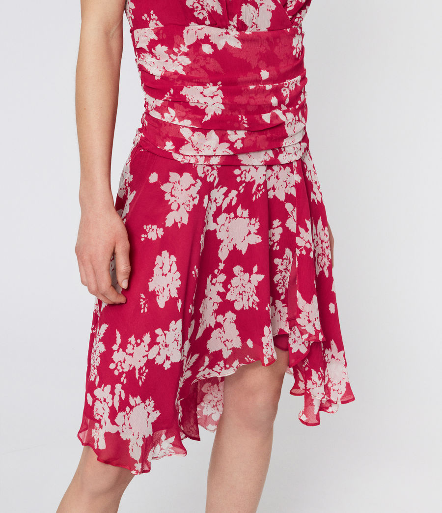 Women's Caris Lea Dress (hot_pink) - Image 4