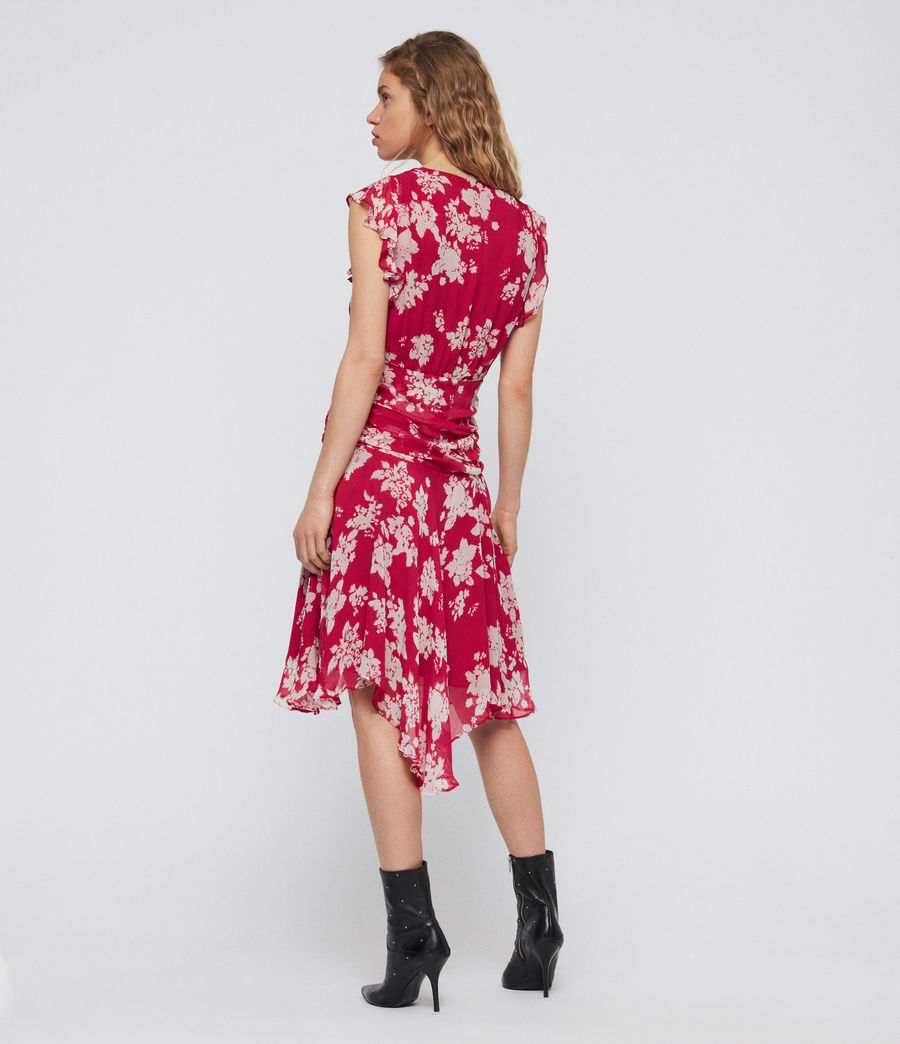 Women's Caris Lea Dress (hot_pink) - Image 6