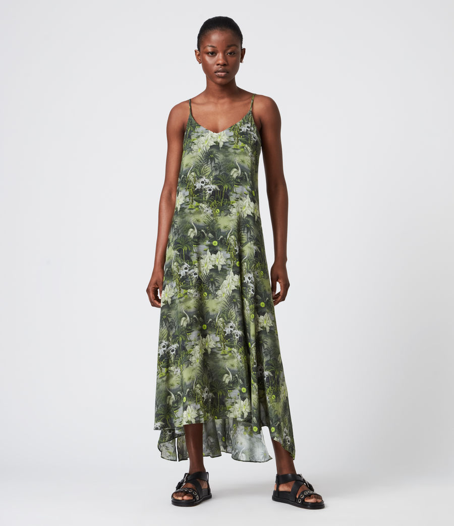 Women's Essey Rejuvenate Dress (green) - Image 1