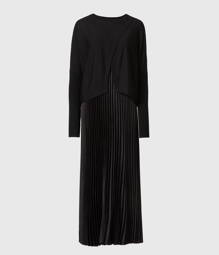 Femmes Robe Lori 2-en-1 (black) - Image 2