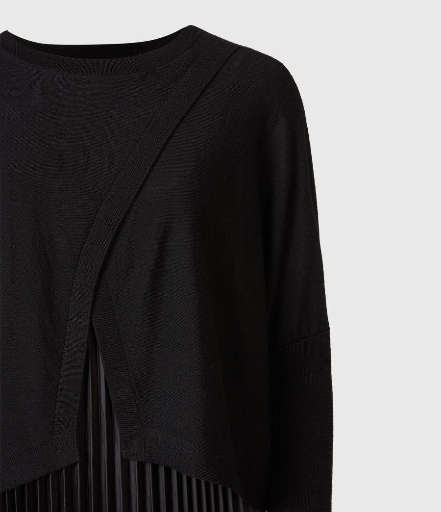 Femmes Robe Lori 2-en-1 (black) - Image 5
