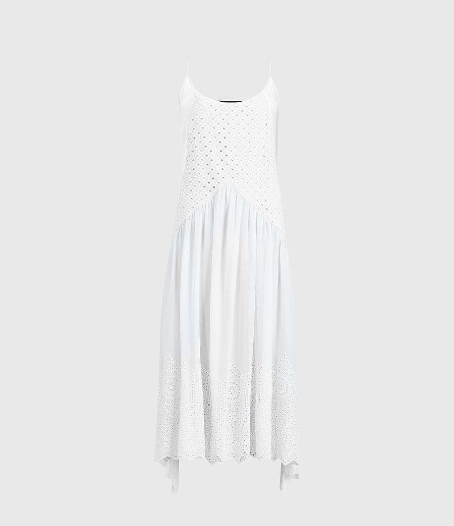 Womens Medina Dress (chalk_white) - Image 1