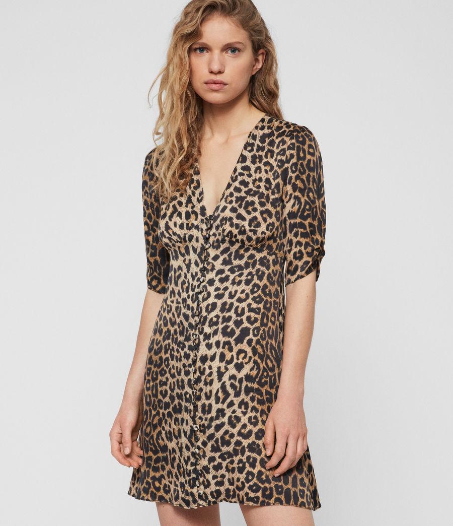 Women's Kota Leppo Dress (leopard) - Image 1