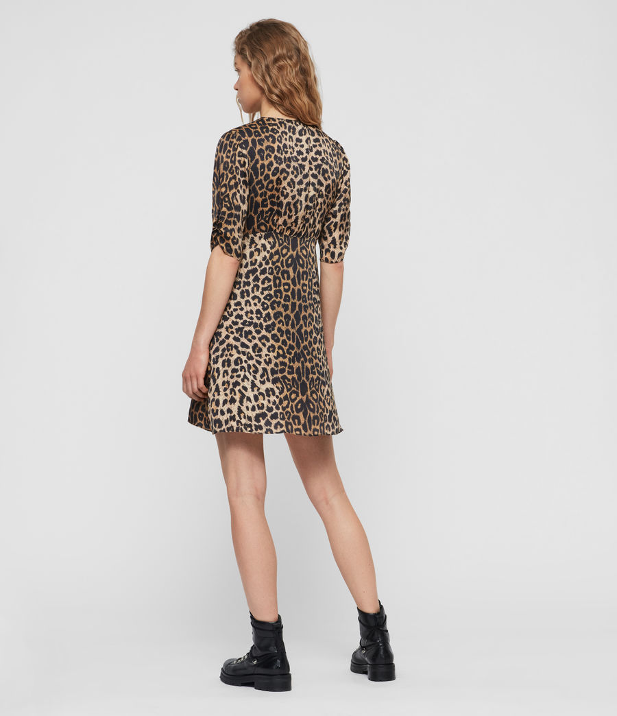 Women's Kota Leppo Dress (leopard) - Image 4