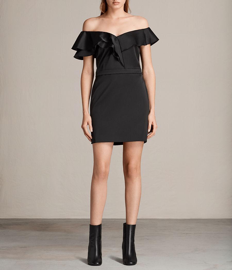 Women's Alessia Dress (black) - Image 1