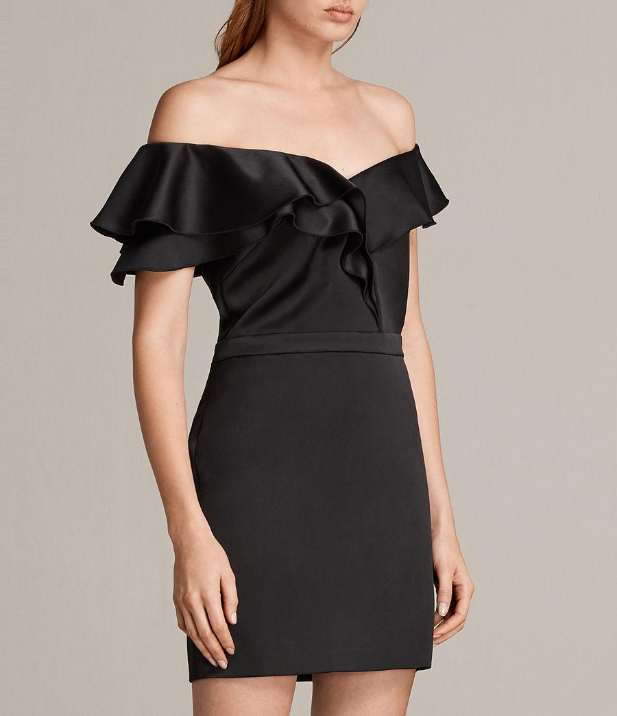 Women's Alessia Dress (black) - Image 4