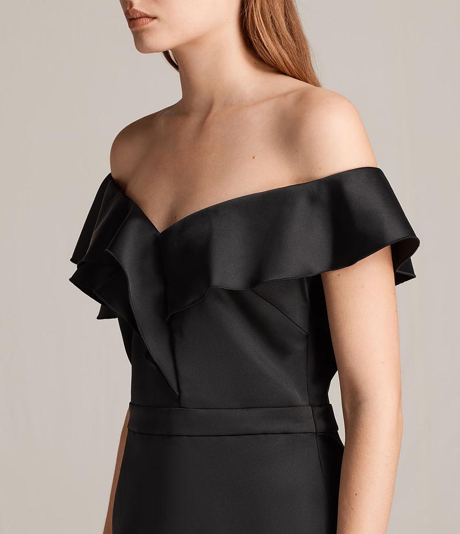 Women's Alessia Dress (black) - Image 5