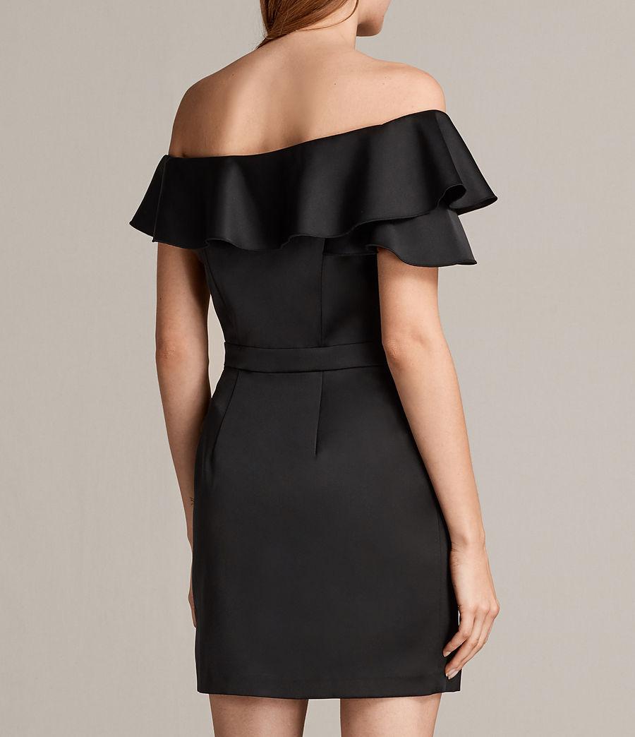 Women's Alessia Dress (black) - Image 6