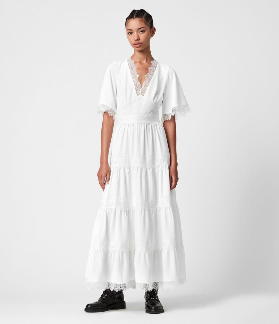 Damen Eris Kleid (chalk_white) - Image 1