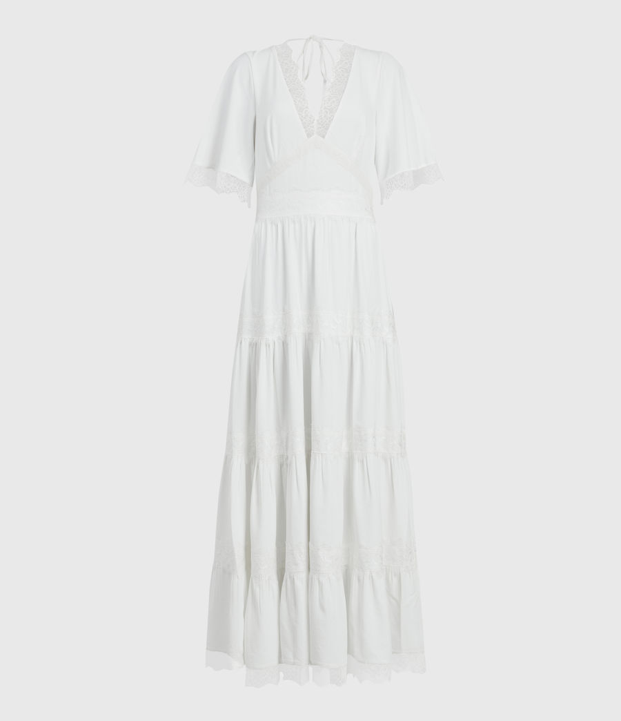 Damen Eris Kleid (chalk_white) - Image 2