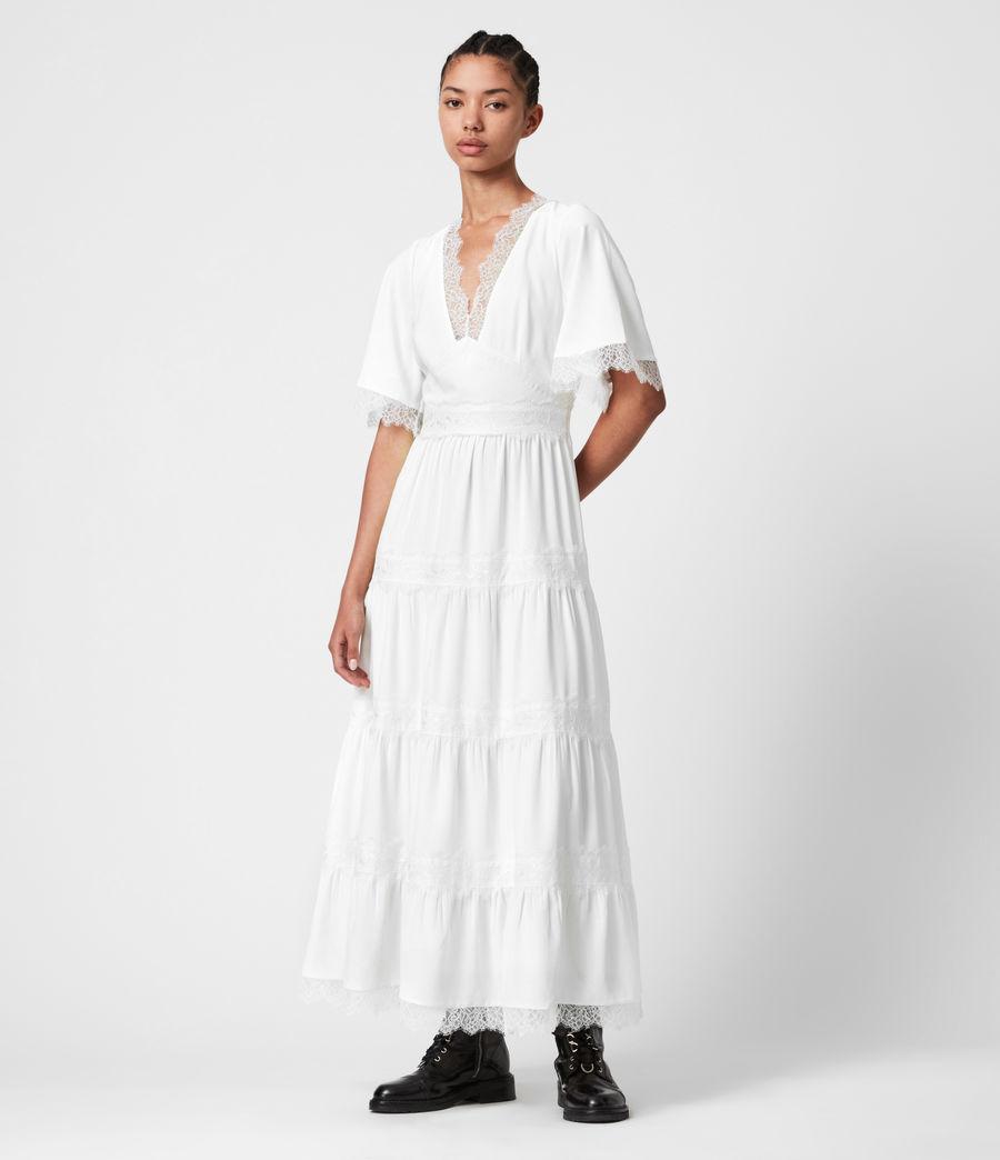 Womens Eris Dress (chalk_white) - Image 4