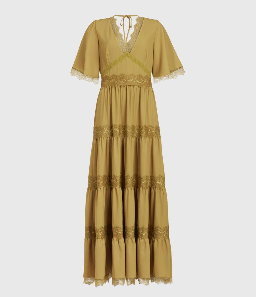 Mujer Eris Dress (pear_green) - Image 1