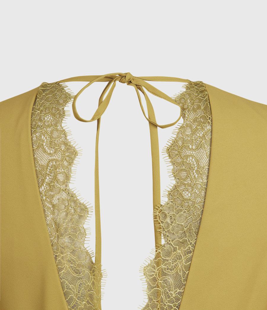 Mujer Eris Dress (pear_green) - Image 3