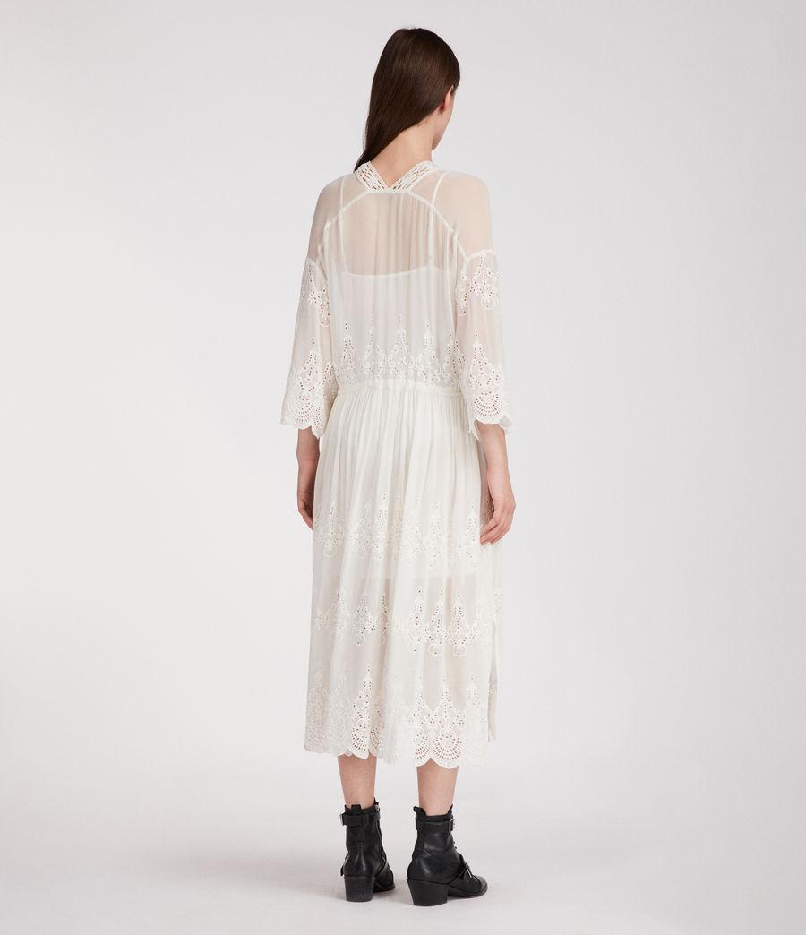 Mujer Vestido Aileen Zinnia (chalk_white) - Image 5