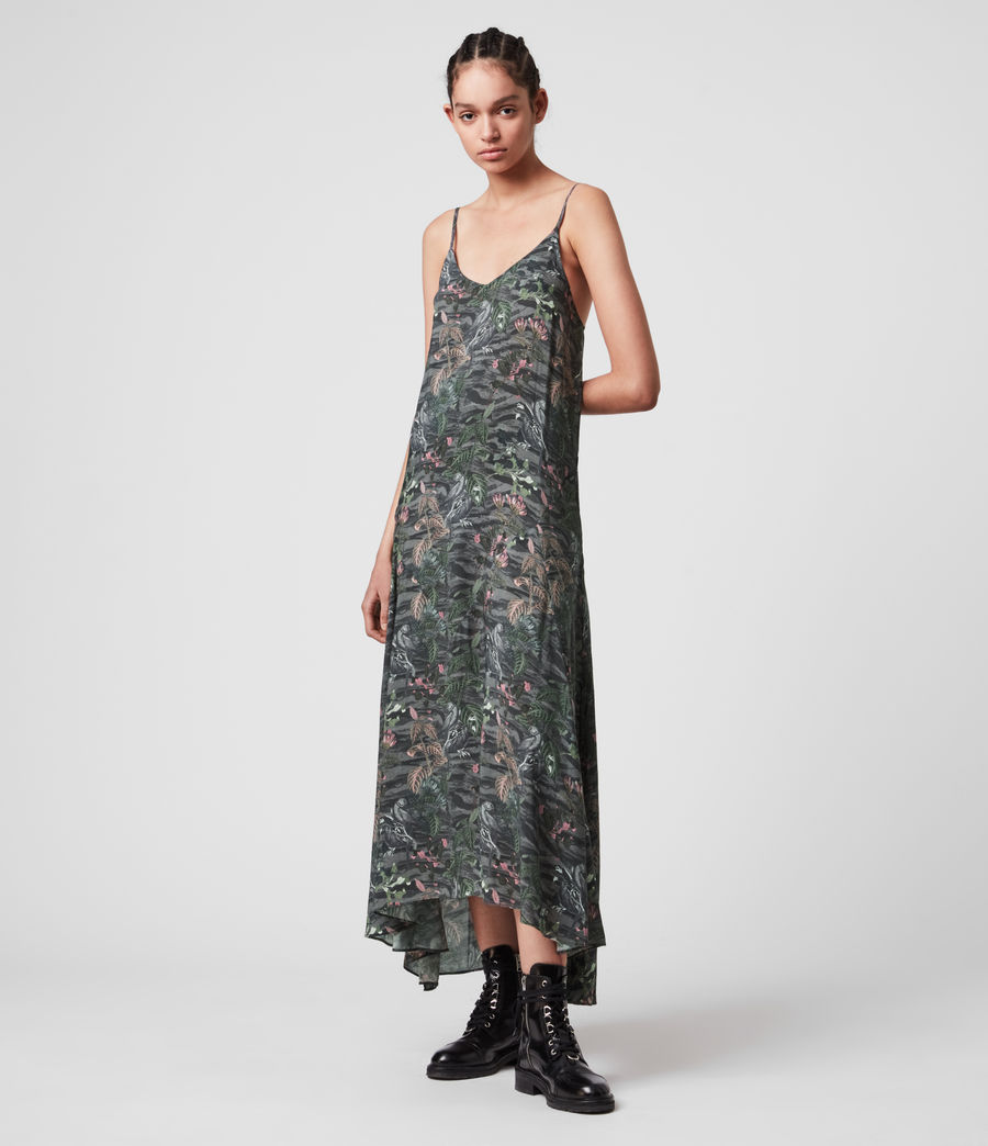 Women's Essie Paradeep Dress (green) - Image 3
