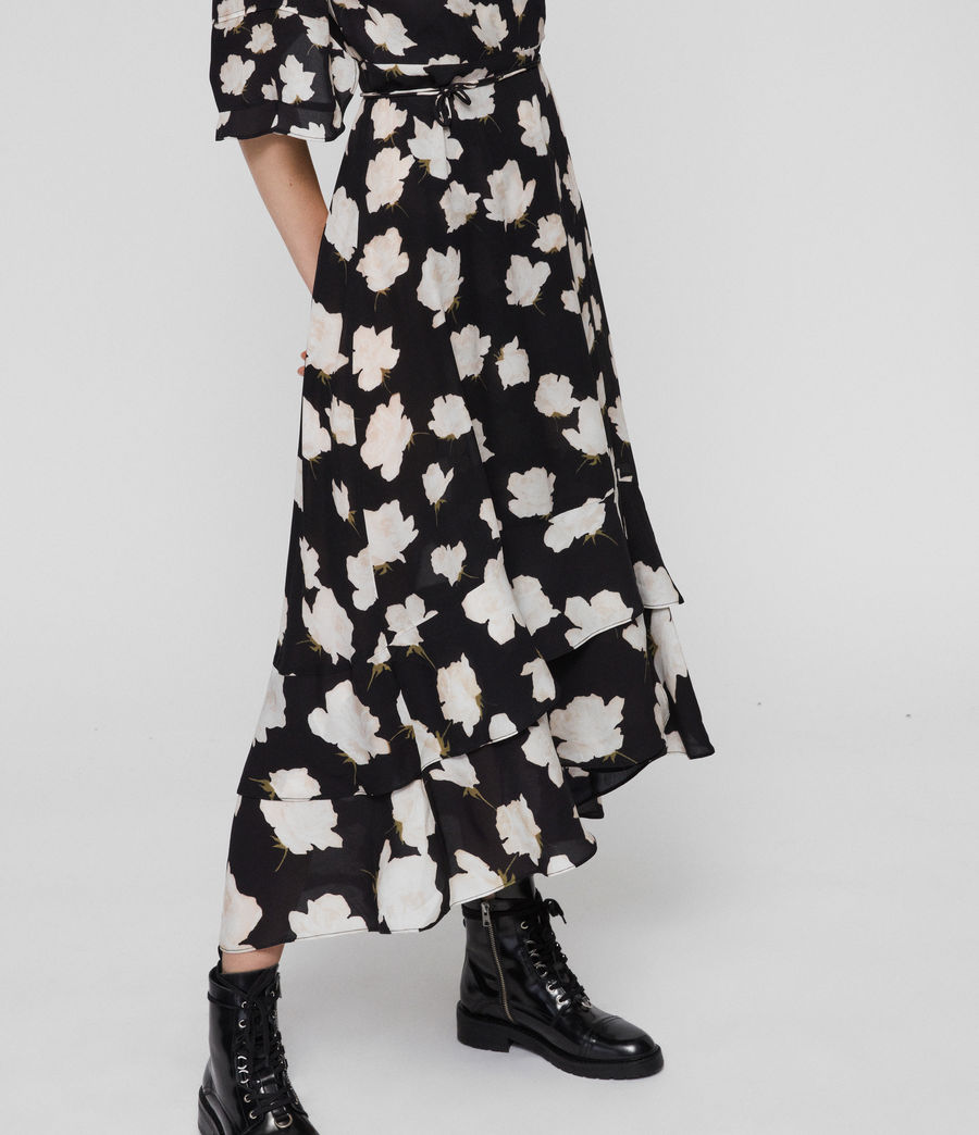 Women's Delana Caro Dress (black) - Image 3