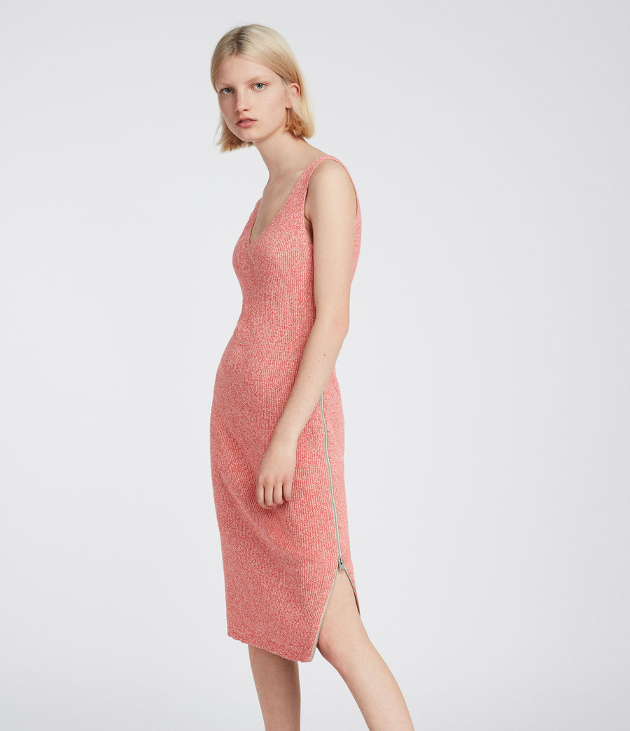 Damen Anza Kleid (bright_pink) - Image 1