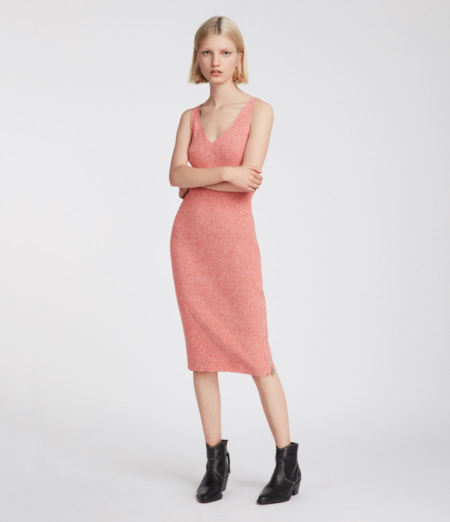 Women's Anza Knit Dress (bright_pink) - Image 2