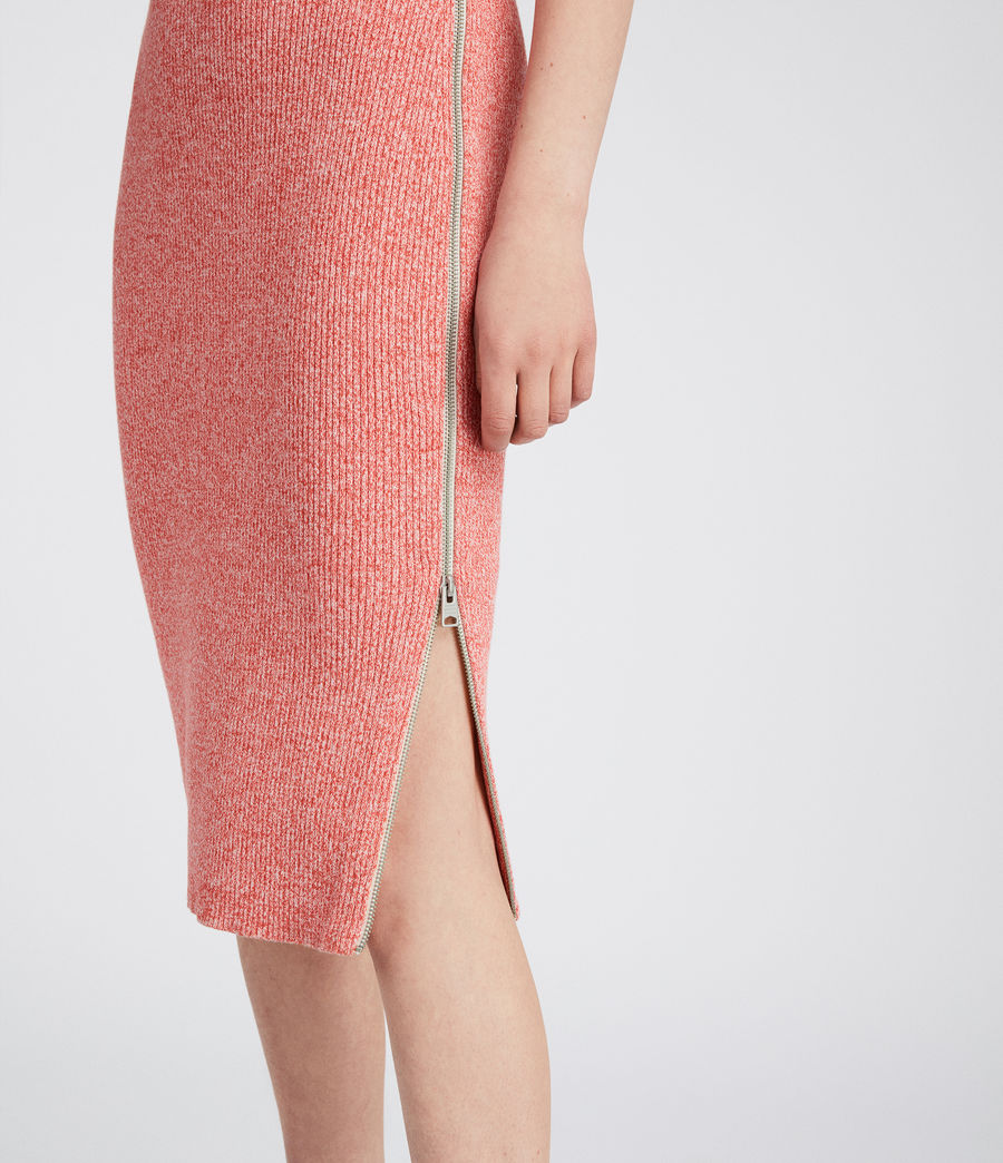 Women's Anza Knit Dress (bright_pink) - Image 3