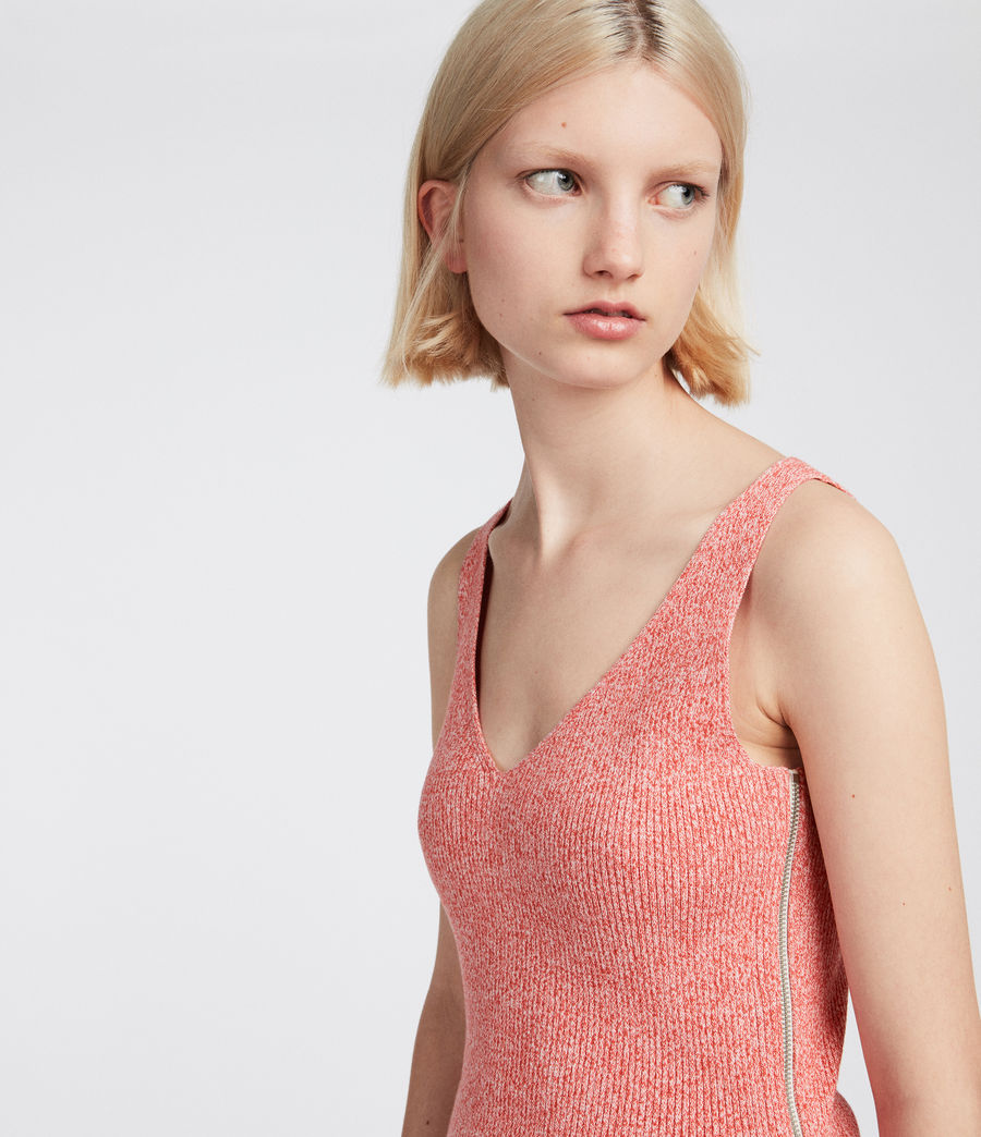 Women's Anza Knit Dress (bright_pink) - Image 4