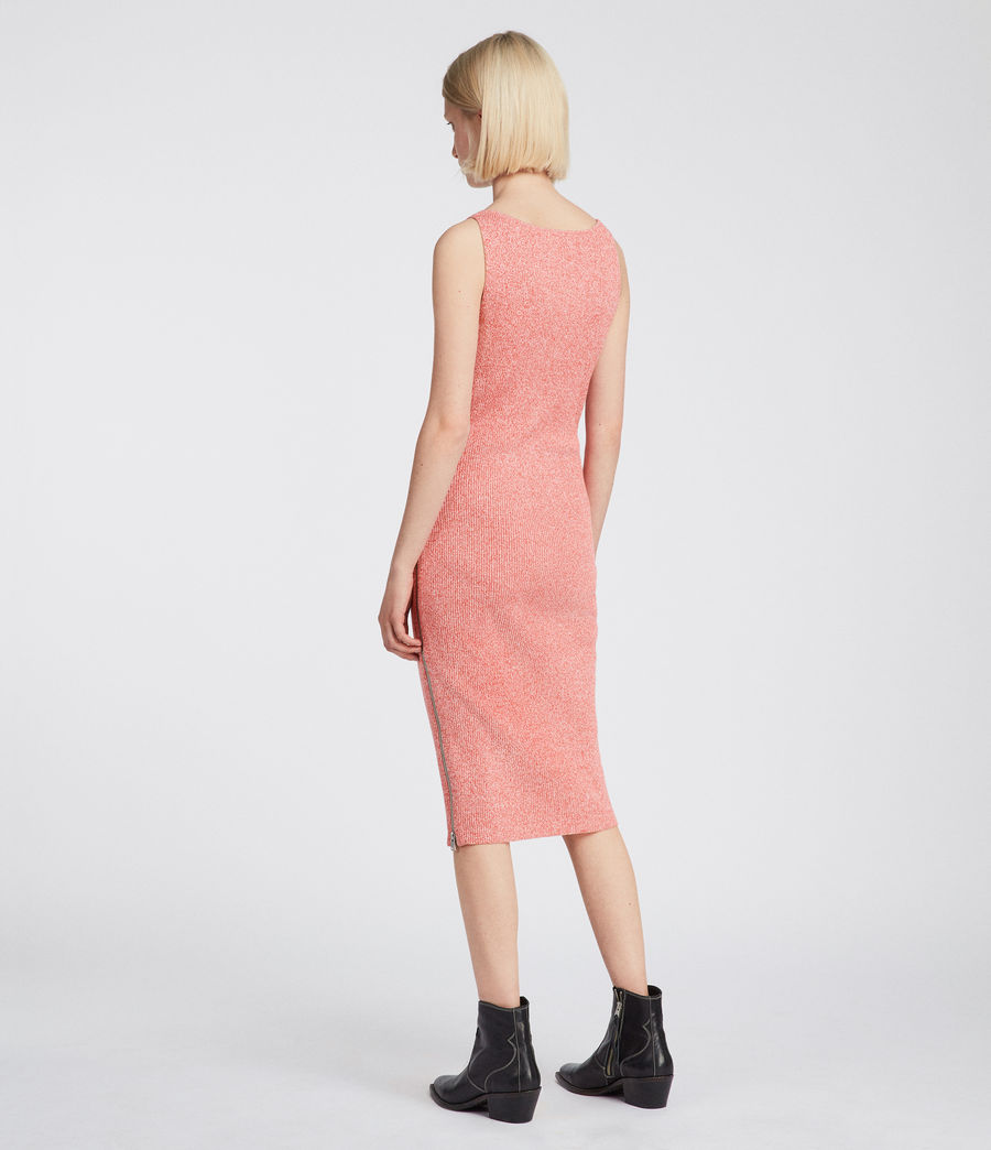 Women's Anza Knit Dress (bright_pink) - Image 5