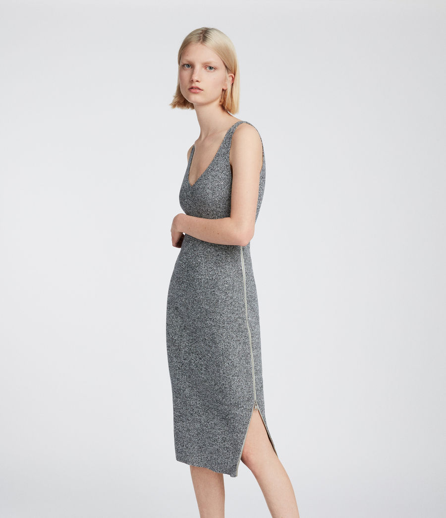 Women's Anza Dress (grey) - Image 1