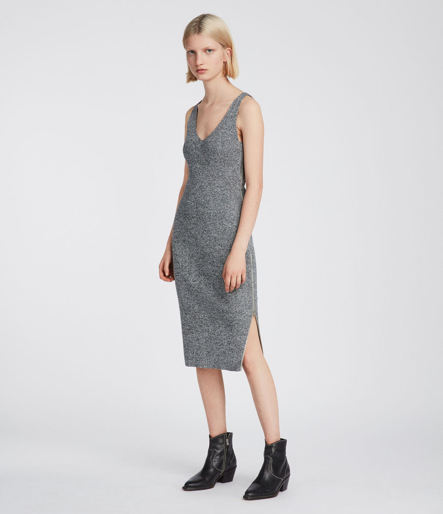 Women's Anza Dress (grey) - Image 2