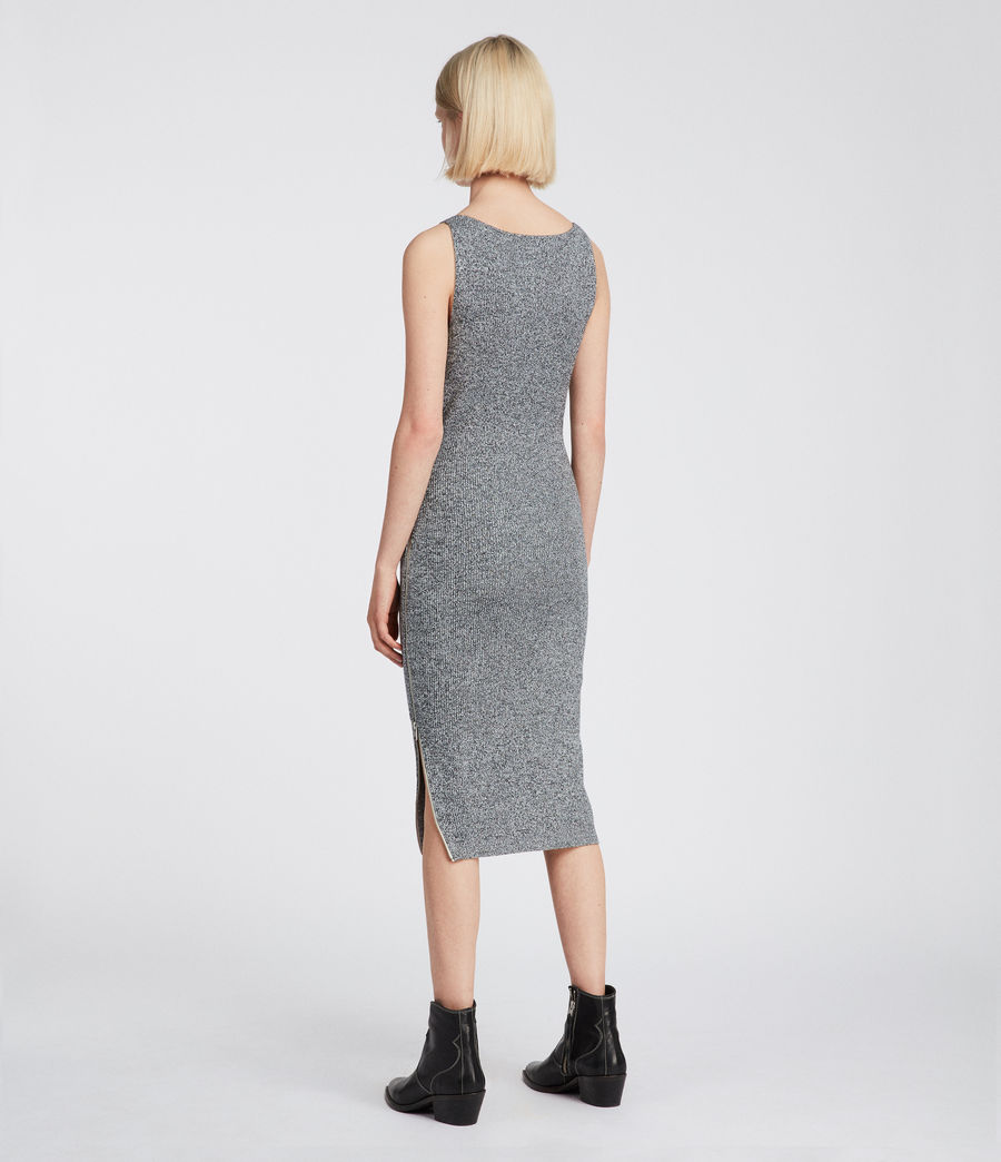 Women's Anza Dress (grey) - Image 4