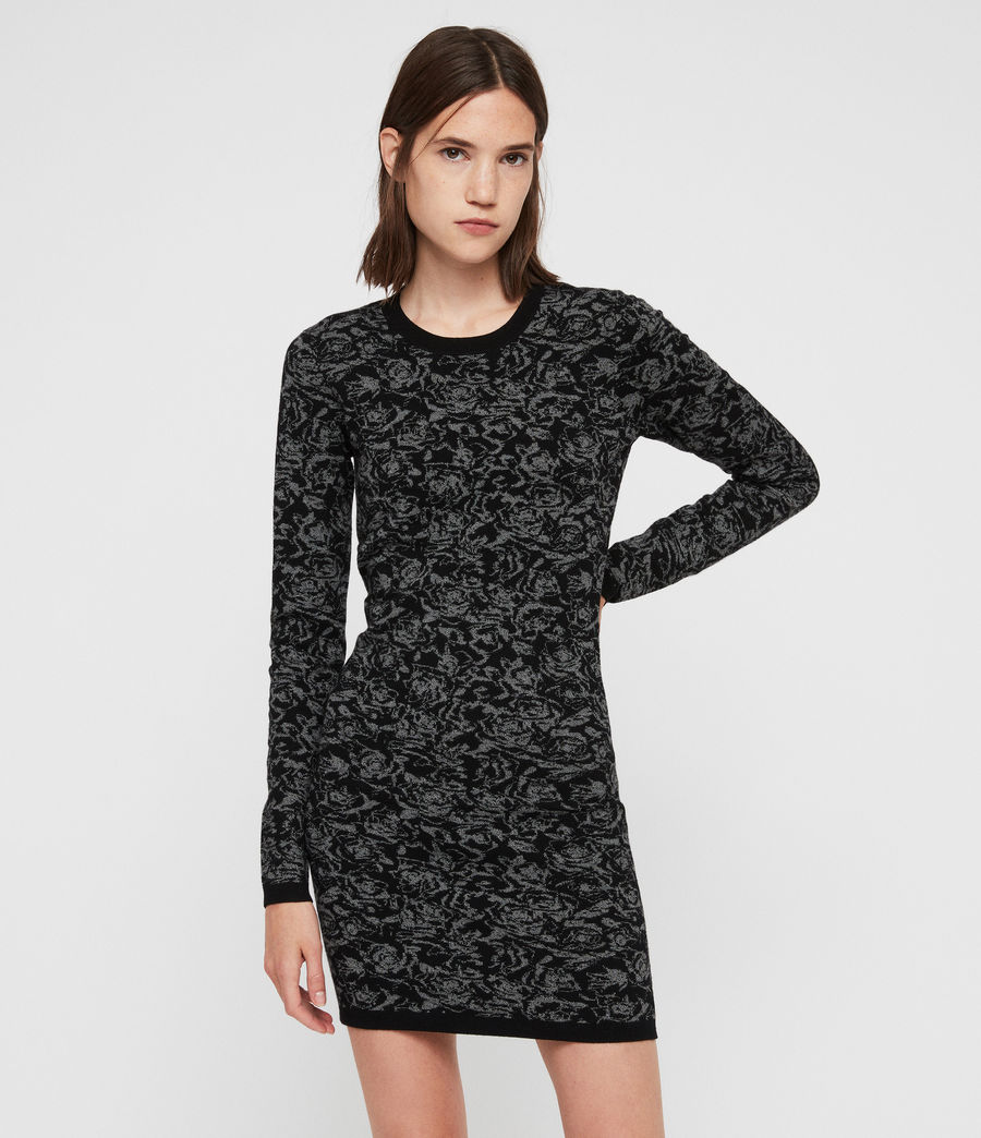 Mujer Lex Rose Dress (black_grey_marl) - Image 2