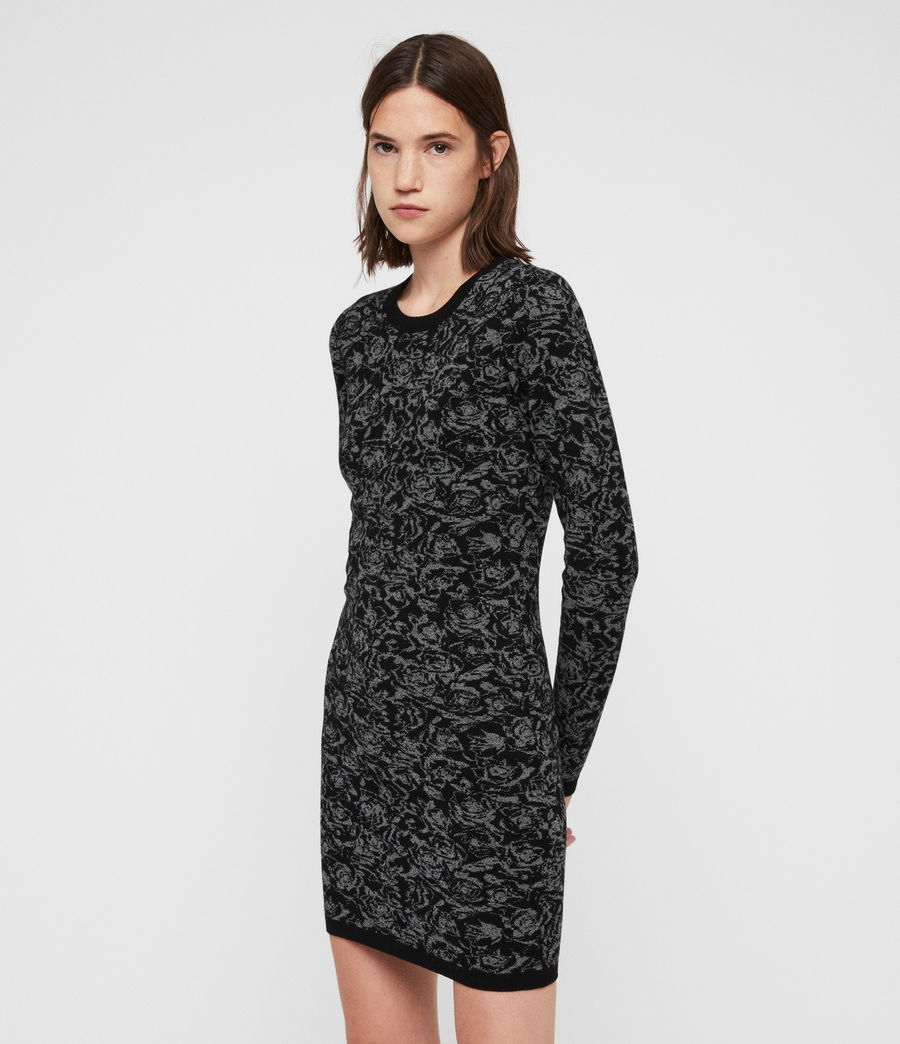 Mujer Lex Rose Dress (black_grey_marl) - Image 6