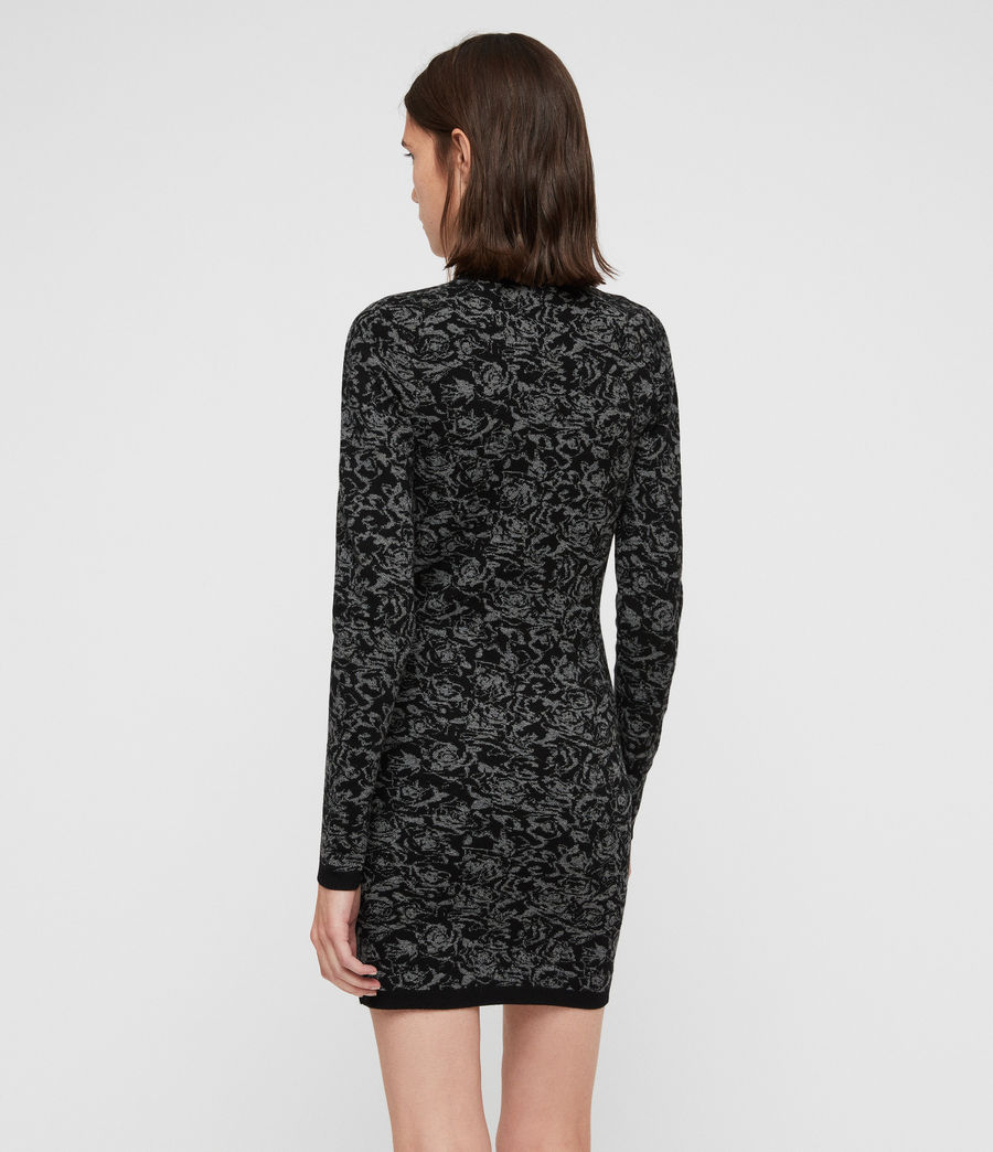 Mujer Lex Rose Dress (black_grey_marl) - Image 7