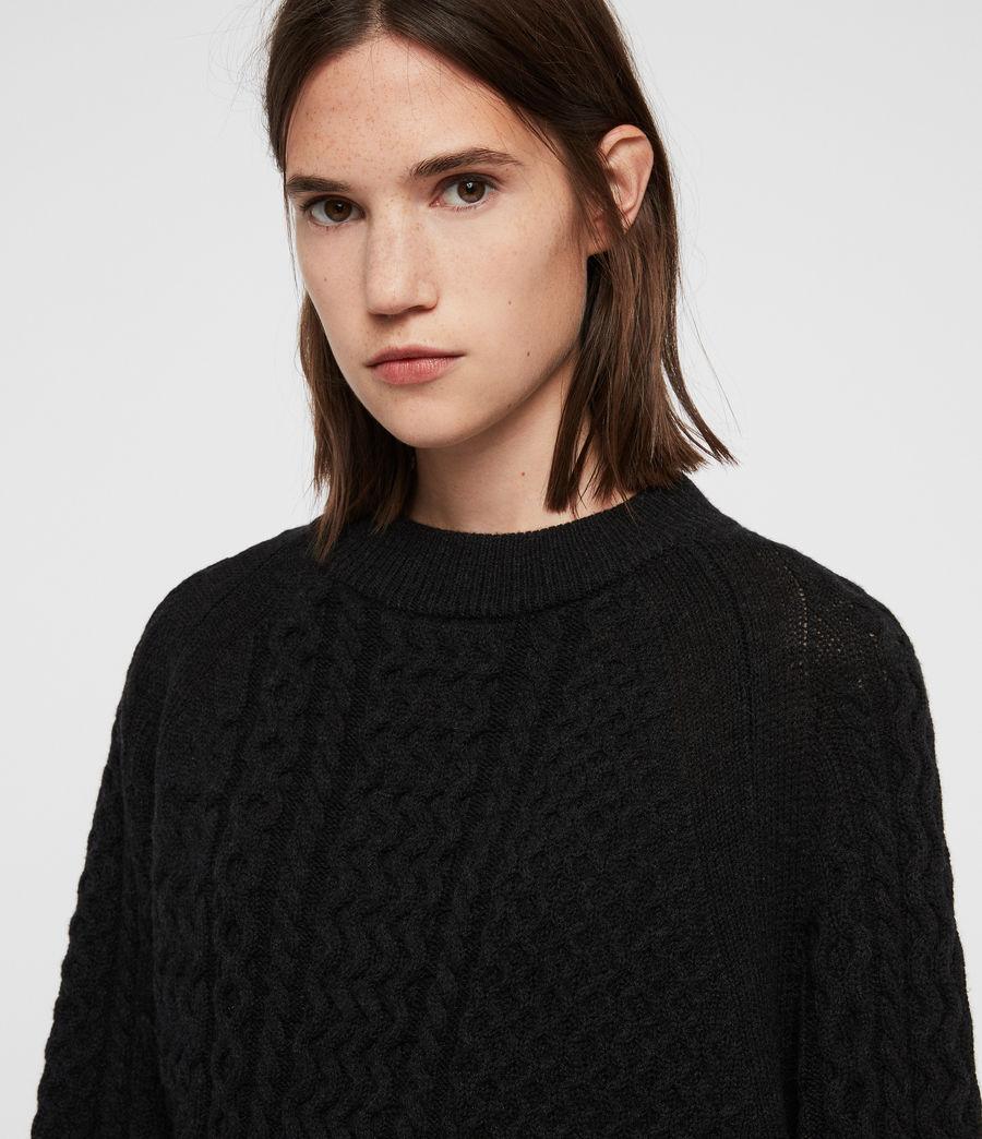 Womens Dilone Dress (cinder_black_marl) - Image 2