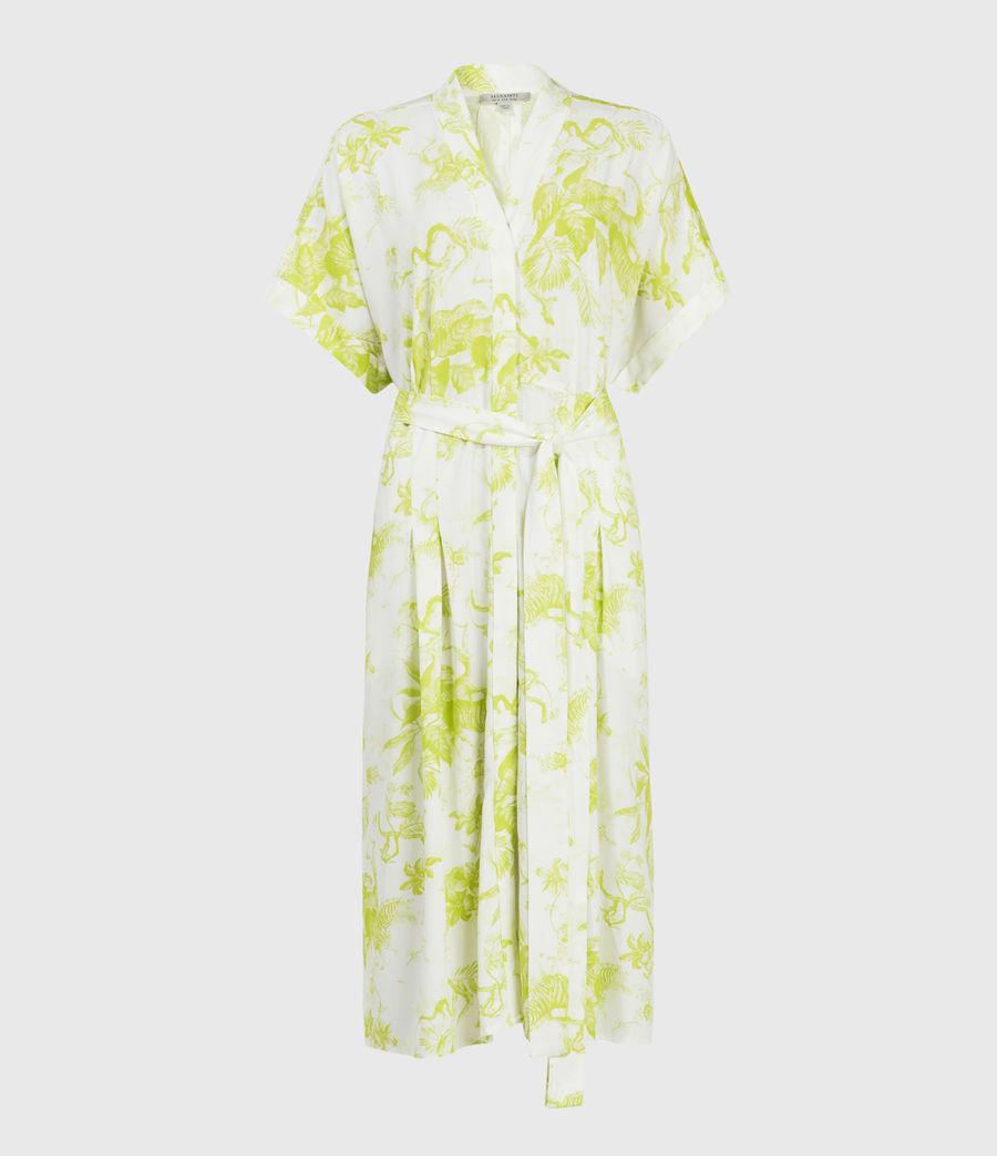 Women's Rosin Riyaz Dress (chartreuse_yellow) - Image 1