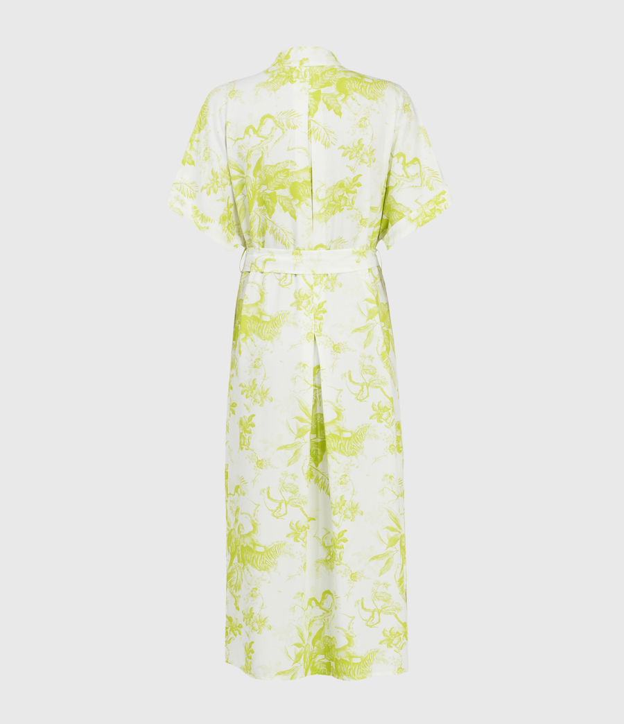Womens Rosin Riyaz Dress (chartreuse_yellow) - Image 2