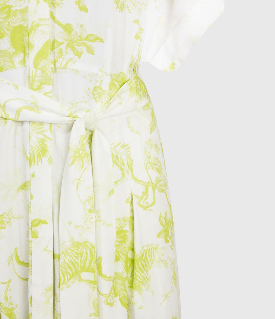 Women's Rosin Riyaz Dress (chartreuse_yellow) - Image 3