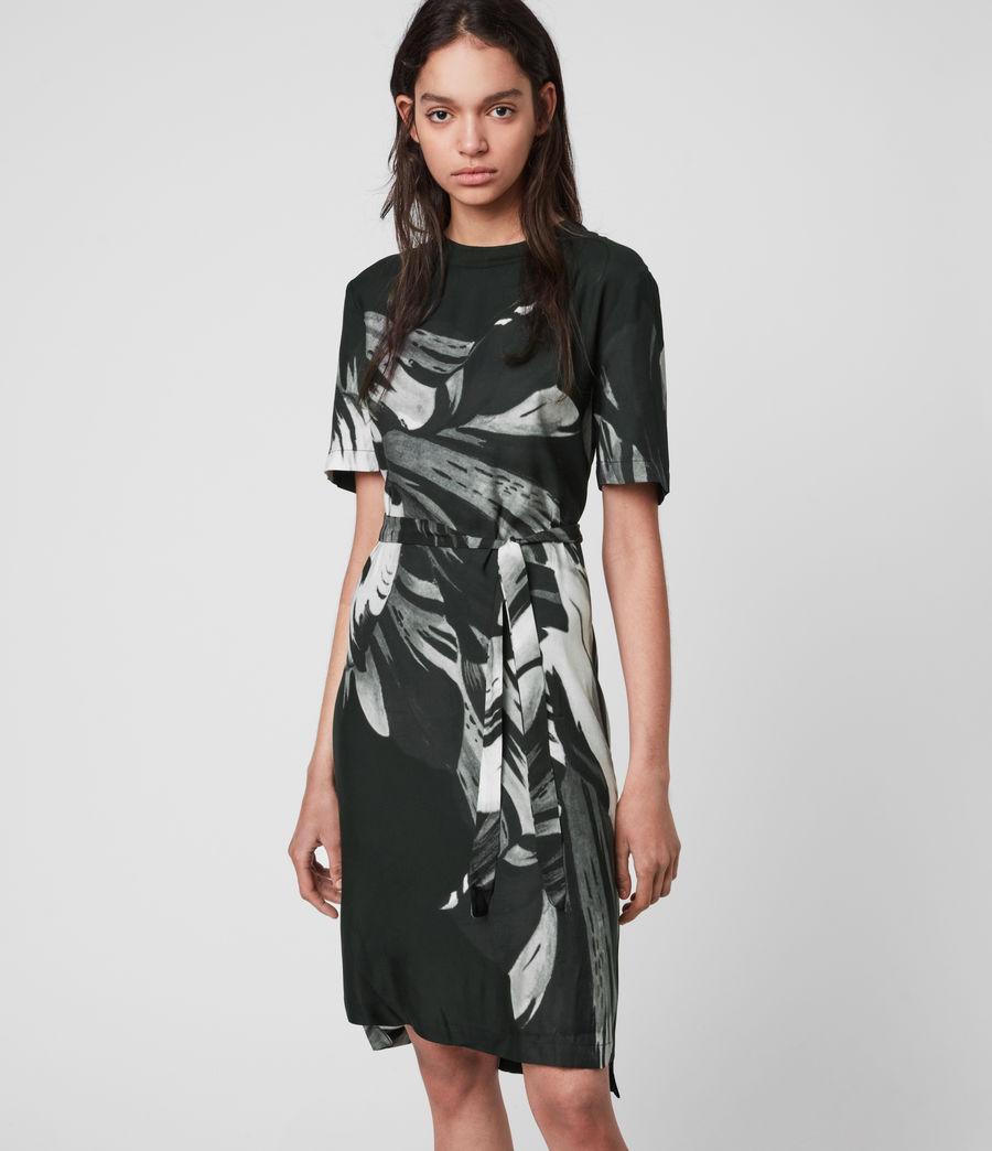 Damen Trace Kannur Kleid (dark_grey) - Image 3