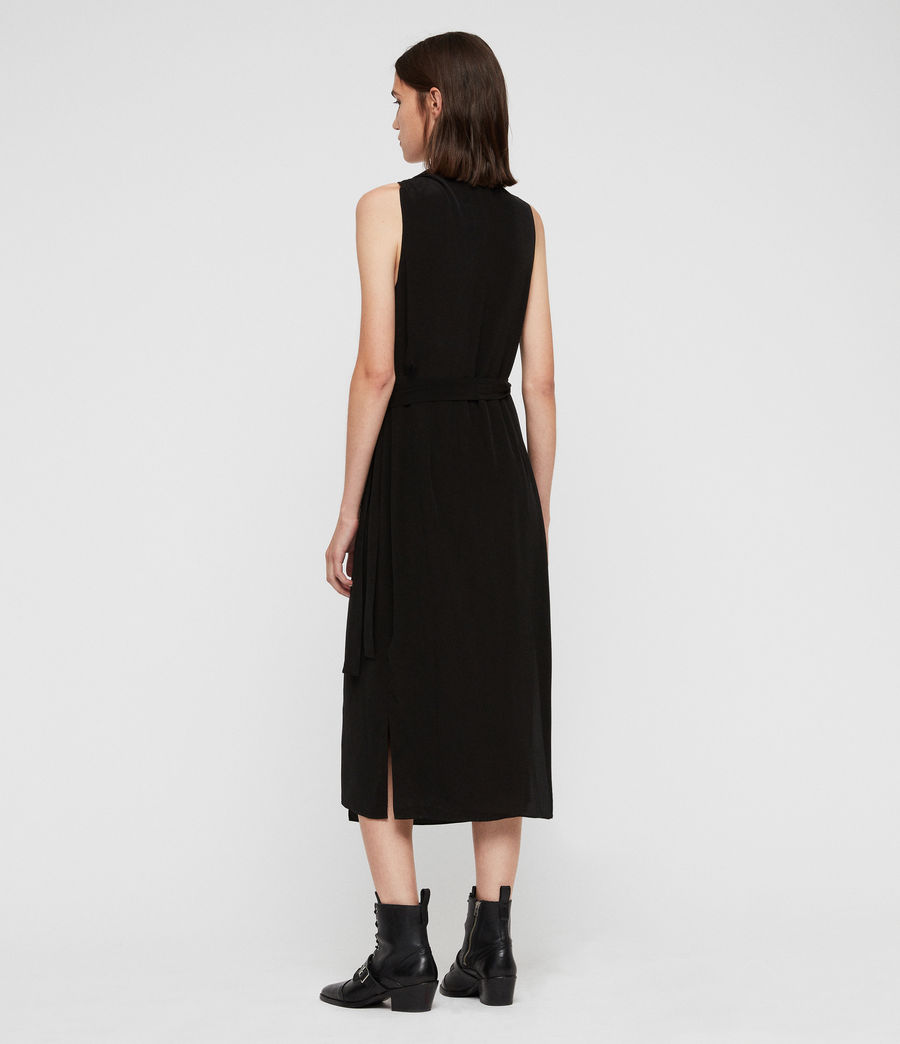 Women's Syrah Long Dress (black) - Image 5