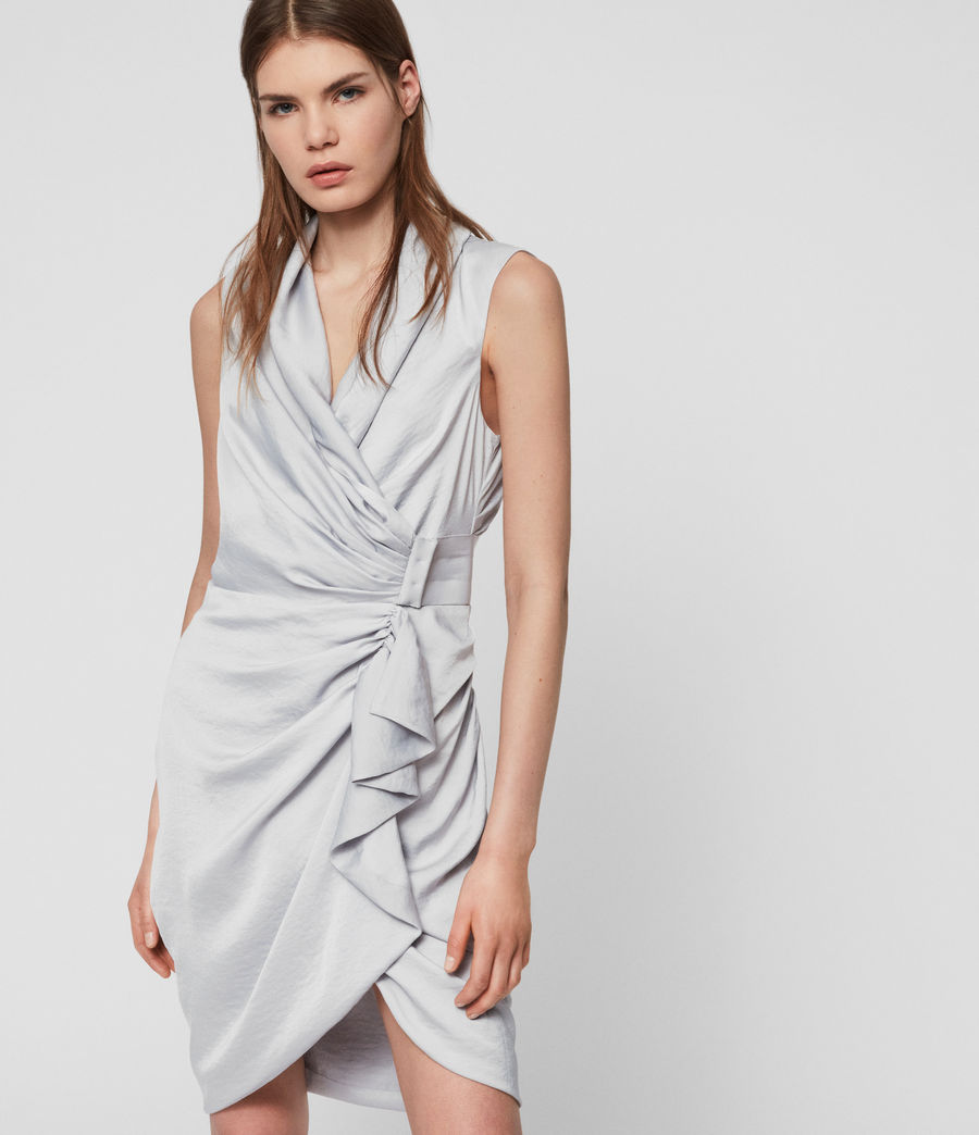 Womens Cancity Dress (pale_grey) - Image 1